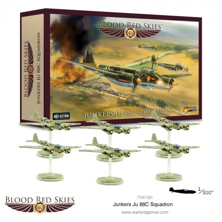 Blood Red Skies : Junkers Ju 88C Squadron