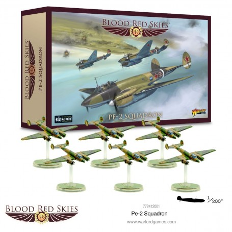 Blood Red Skies : Pe-2 squadron