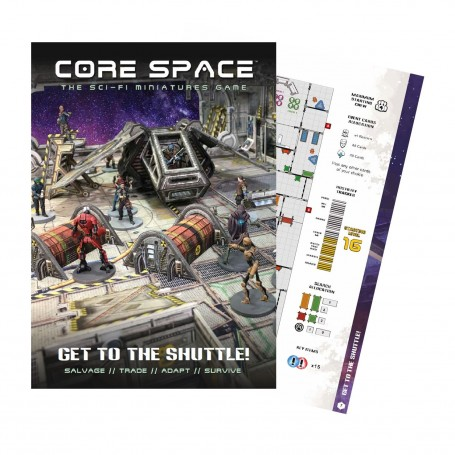 Core Space - GET TO THE SHUTTLE EXPANSION