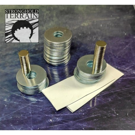 25mm Magnetic Round Bases (40)