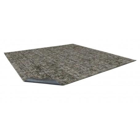 Flagstone Floor Gaming Mat 60x60 cm