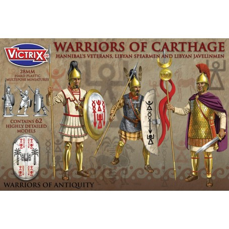 Victrix Ancient Warriors of Carthage