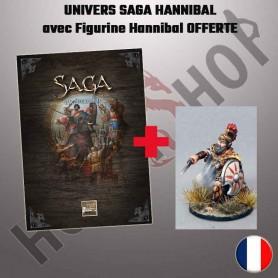 Univers Saga : l'Age d'Hannibal + figurine OFFERTE