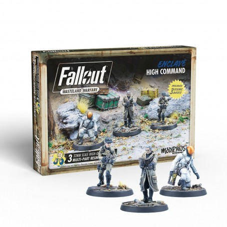 Fallout: Wasteland Warfare - Enclave: High Command