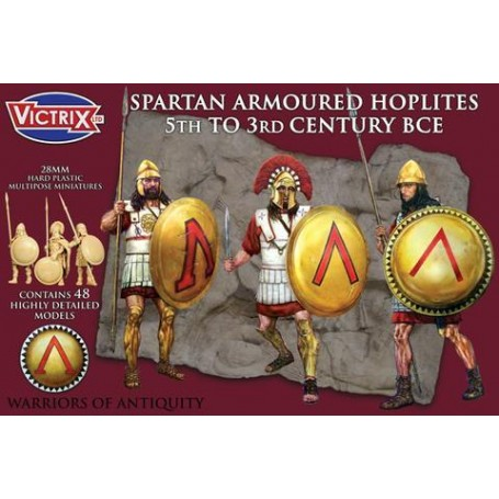 Victrix Spartan Armoured Hoplites 5th to 3rd Century BCE