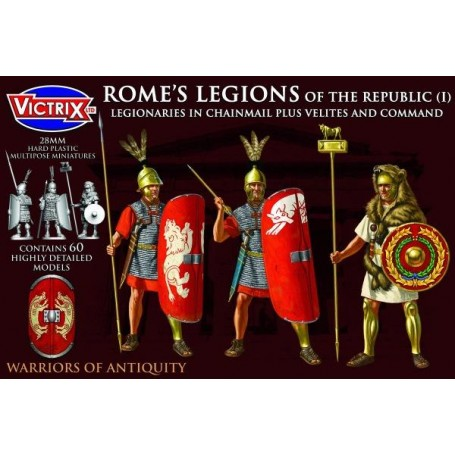 Victrix Rome's Legions of the Republic in Chainmail