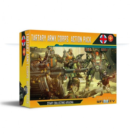 INfinity - Tartary Army Corps Action Pack