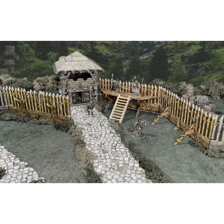 Palisade Walls (Inclue dans Fantasy Battlefield)