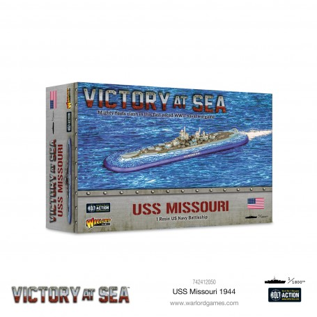 Victory At Sea - USS Missouri