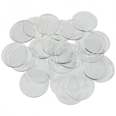 Socles acryliques transparents 25mm x20
