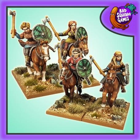 SAGA - Mounted Shieldmaiden Warriors