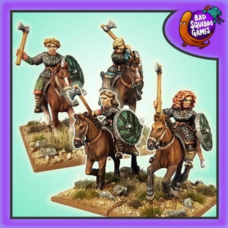 SAGA - Mounted Shieldmaiden Hearthguards