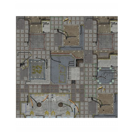 Battle Systems Frontier Sci-Fi Gaming Mat 60x60cm