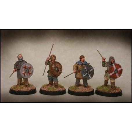 Late Saxon Fyrd Warriors 1