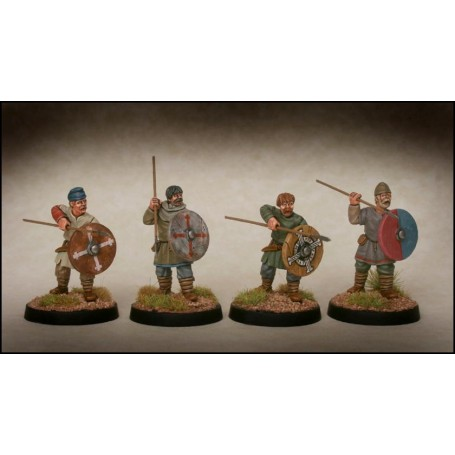 Late Saxon Fyrd Warriors 2