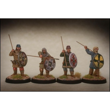 Late Saxon Fyrd Warriors 3