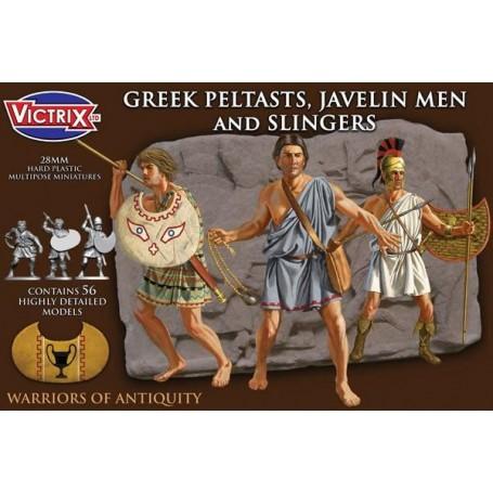 Victrix Greek Greek Peltasts, Javelin Men and Slingers