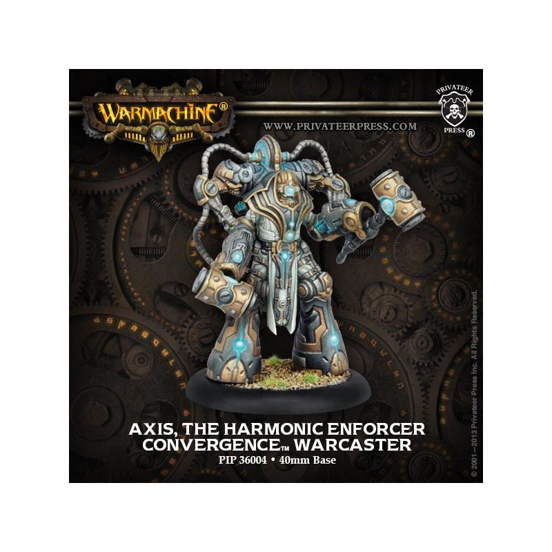 Axis, The Harmonic Enforcer, Convergence of Cyriss, cartes en VF et EN