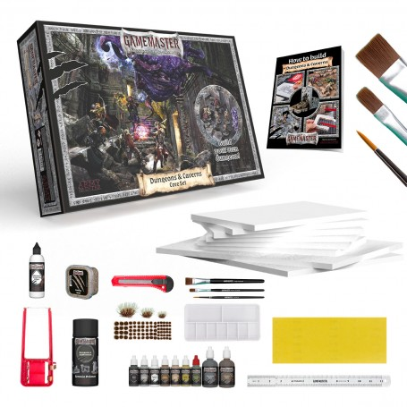 PRECOMMANDE - GAME MASTER - Dungeons & Caverns Core Set