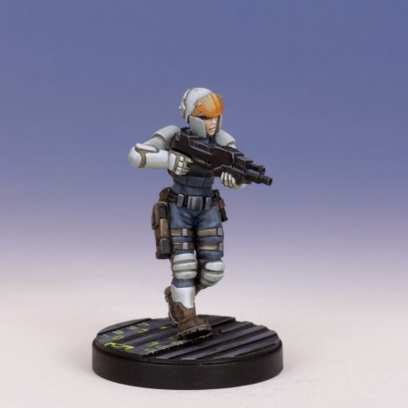M:CA - Trooper with las carbine