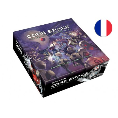 PRECOMMANDE Core Space - CORE SPACE STARTER SET VF