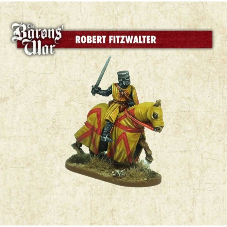 The Baron's War - Robert Fitzwalter on horse