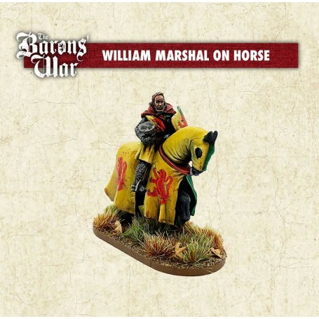 The Baron's War - William Marshal on horse
