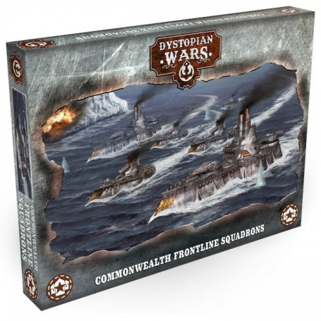 Dystopian Wars - Commonwealth Frontline Squadrons VF