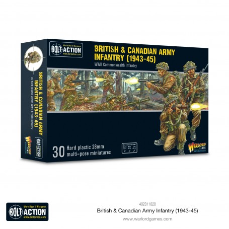 Bolt Action British & Canadian Army Infantry (1943-1945)