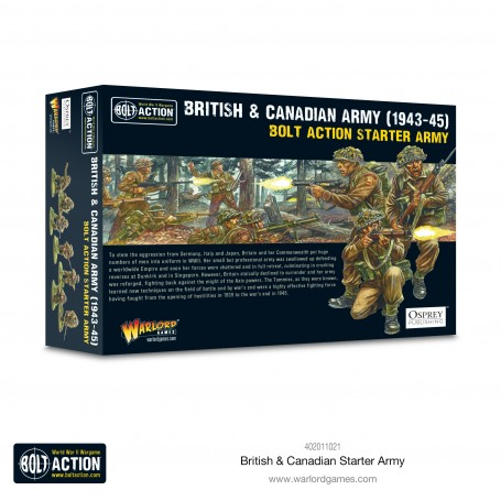 Bolt Action British & Canadian Starter Army (1943-1945)