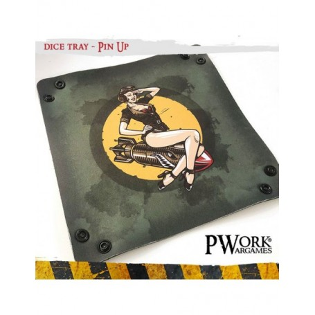 PWork Wargames - Piste à dés - Pin Up