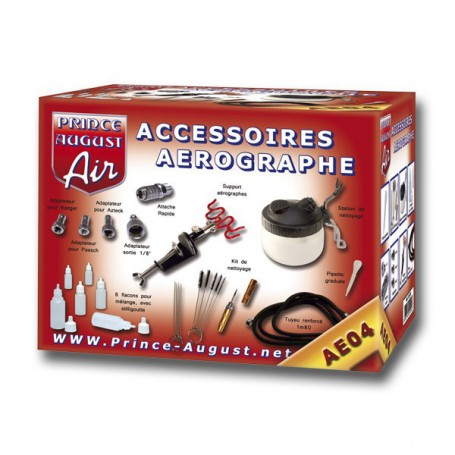 Optimum Accessoires Aérographe + Ultra Cleaner de Prince August
