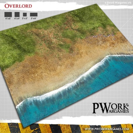 PWork Wargames - Tapis de jeu Néoprène Overlord 90x120cm