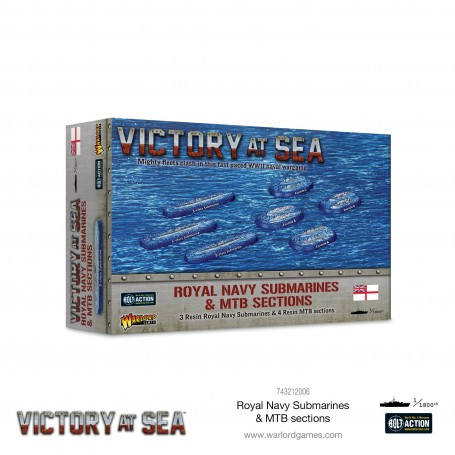 Victory at Sea - Royal Navy Submarines & MTB sections