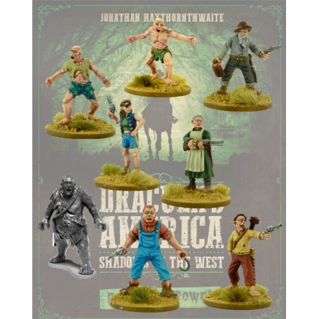 Dracula America: The Kin (+ Posse Sheet)