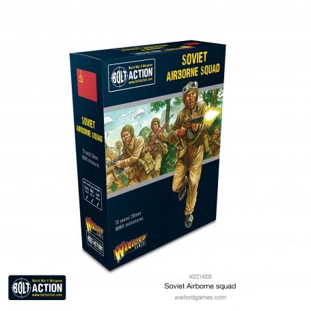 Bolt Action Soviet Airborne Squad