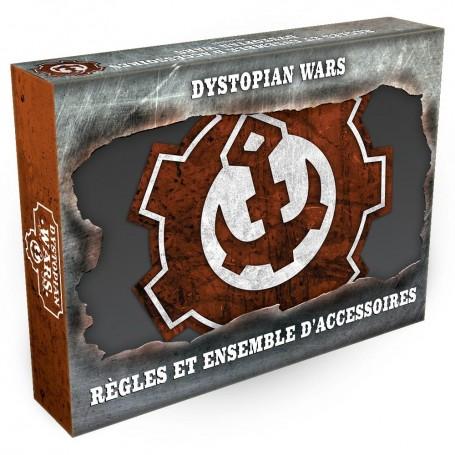 Dystopian Wars - Règles et ensemble d'Accessoires VF