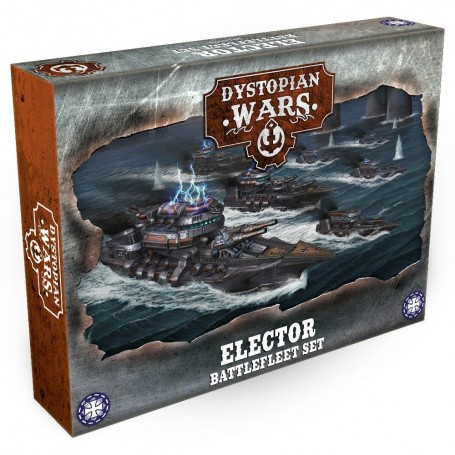 Dystopian Wars - Elector Battlefleet Set VF