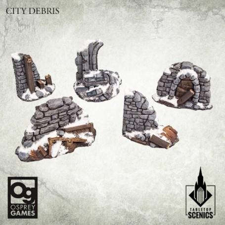 Frostgrave 2e Ed - City Debris