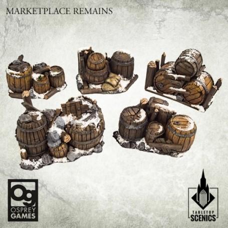 Frostgrave 2e Ed - Marketplace Remains