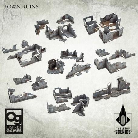 Frostgrave 2e Ed - Town Ruins