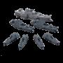 Dystopian Wars - Ning Jing Battlefleet Set VF