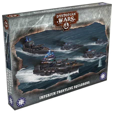 Dystopian Wars - Imperium Frontline Squadrons VF
