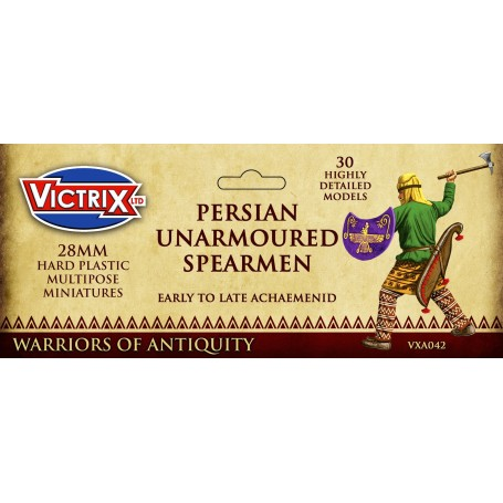Victrix Persian Unarmoured Spearmen