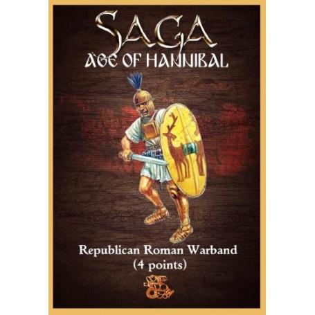 SAGA - Republican Roman Starter Warband (4 points)