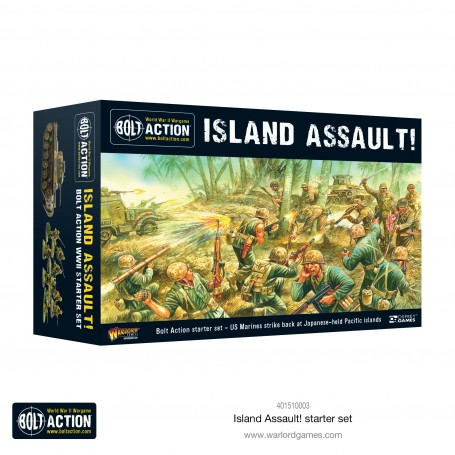 PRE ORDER - Bolt Action Island Assault! VF with Pre-Order Special Miniature
