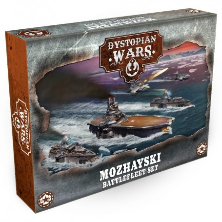Dystopian Wars - Mozhayski Battlefleet VF