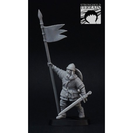 Norman/Crusader Banner Man