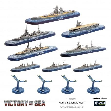 Victory at Sea - Marine Nationale Fleet