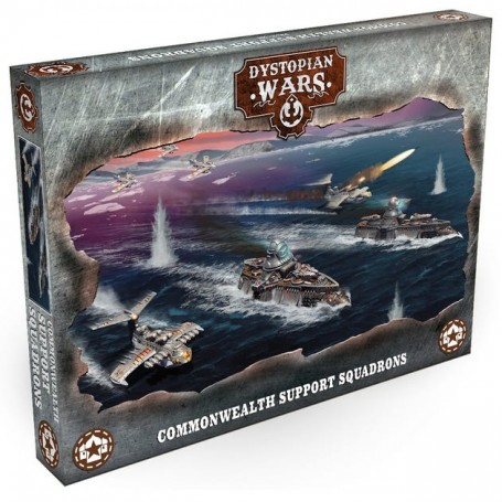 Dystopian Wars - Commonwealth Support Squadrons VF